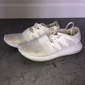 women's white adidas tubulars
